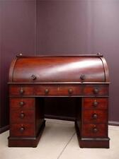 Antique CYLINDER DESK Gentlemans Desk MAHOGANYcirca mid 1800 resawreck-antiques