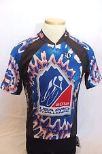 New Pearl Izumi Men's Select Cycling Short Sleeve Jersey Large Bike Blue NWT