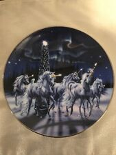 Franklin Mint, Royal Doulton, Wonder Of The Unicorns by Sue Dawes