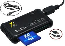 Memory Card Reader - Writer Combo Kit For Panasonic Lumix DC-FZ80 DMC-FZ2500