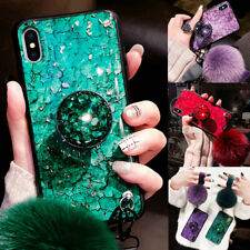 Bling Diamond Marble Case with Phone Holder For Samsung Galaxy Note 10 Plus S10