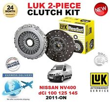 FOR NISSAN NV400 dCi 100 125 145 CLUTCH KIT 2011-ON LUK 2 PIECE ** OE QUALITY **