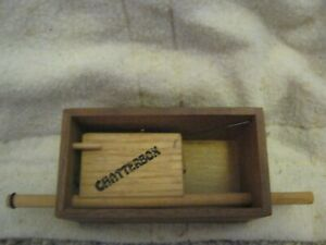Chatterbox Wooden Pushpin Turkey Call