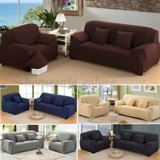 1/2/3/4 Seater Elastic Slipcover Stretch Sofa Couch Cover Protector
