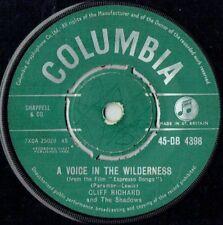 Columbia Cliff Richard 45 RPM Speed Vinyl Records