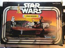 Vintage Kenner Star Wars Landspeeder vehículo Para Figuras De Acción (en Caja)