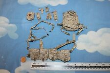 TOYS CITY/ SOLDIER STORY 1:6TH SCALE CAMO CHEST RIG, PACK & POUCHES CB38211