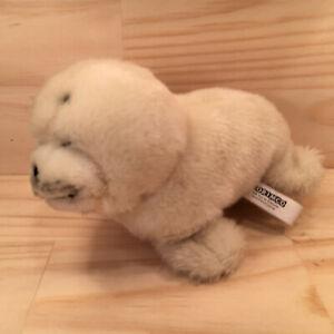 """LOU-SEAL THE FUR SEAL """"White"""" Gorgeous Little Cuddly Animal Soft Toy (Korimco)"""