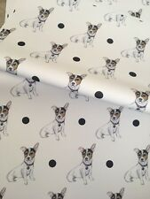 Jack Russell, Wrapping Paper, Gift Wrap, Read Description