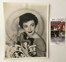 Ida Lupino Signed Autographed Vintage 8x10 Photo JSA Certified