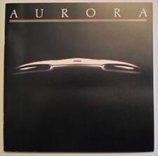 Oldsmobile Aurora Orig 1993 1994 USA MKT CATÁLOGO FOLLETO de ventas