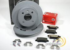 Opel Meriva - Zimmermann Bremsscheiben für 4 Loch Räder Bremsbeläge für hinten