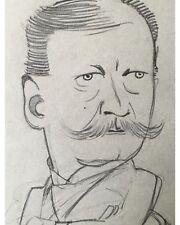 Georg Erler: Männliches Portrait (II) - Original Bleistiftzeichnung um 1910