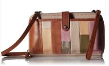 The Sak 💕 NWT $89 Crossbody Wallet Wristlet Phone-Case Iris Multi-Patch Leather