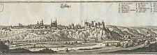 LEISNIG - Kupferstich Merian - Orig. 1650 Sonderpreis!