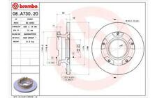 BREMBO Juego de 2 discos freno 280mm FORD TRANSIT 08.A730.20