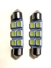 AutoStyle budget 42 mm 6x5050SMD Bianco LED Festone Lampadine (confezione da 2)