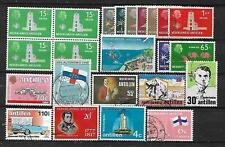 NETHERLANDS-ANTILLES, 23 VARIOUS,  MIXED