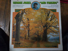"SEALED LP, George Jones, ""And Friends"" RCA Vinyl Record"