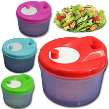 Salad Washer Cleaner Dressing Drainer Spinner Large Dryer Drying Lettuce Veggie