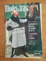 MODES ET TRAVAUX  N°838 - 1970
