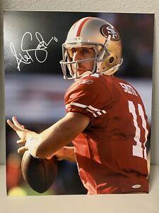 Alex Smith Signed San Francisco 49ers 16x20 Photo TriStar