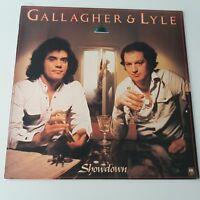 Gallagher And Lyle - Showdown Vinyl Album LP EX/EX