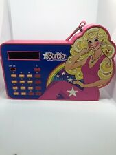 Rare Working Vintage 1980 Mattel Barbie Doll Portable School Calculator