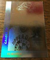 1990-91 Upper Deck Calder Trophy - ED BELFOUR #AW4 Chicago Blackhawks Rookie RC