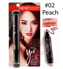 Mistine Yes It s Lipstick Tint 2 in 1 Smoother Long Last Waterproof #02 Peach