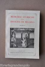 Memorie Diocesi Milano Valsassina Chiesa Sepolcro Verano Brianza Arcimboldi 1957