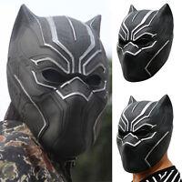 Marvel Avengers Infinity War Black Panther Maske Cosplay Kostüm Karneval Party A