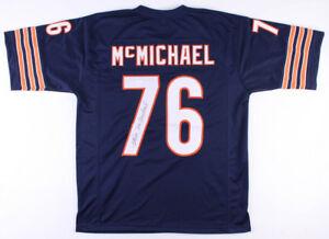 Steve McMichael Signed Chicago Bears Jersey (JSA COA) 2×Pro Bowl Defensive End
