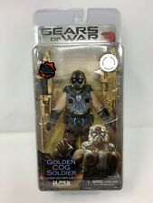 "NECA Player Select Gears of War 3 GOLDEN COG SOLDIER 7"" Figure TRU Exclusive"