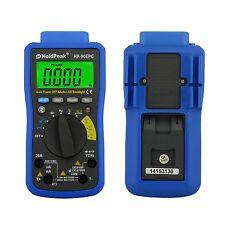 HoldPeak serie HP -90 auto che vanno Digitale Multimetro Misuratore Con Batteria ** Nuovo **
