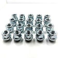 """20 X ALLOY WHEEL NUTS OPEN ENDED FORD 1/2"""" UNF 19MM HEX  STUDS BOLTS LUGS  [11]"""