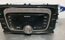 Ford sony focus-c max DAB radio with 6 Disc CD MP3 player FREE P+P