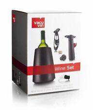 Brand New Vacu Vin Wine Set Elegant wine cooler wine saver wine server corkscrew