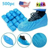 500pc Waterproof Anti Slip Shoe Boot Cover Disposable Shoe Covers for Workplace
