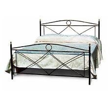 Letto singolo in ferro battuto in vari colori per camera da letto classica