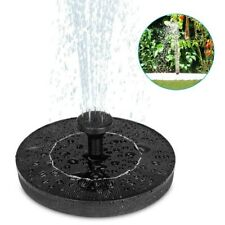 Solar Fountain Pump for Bird Bath Floating Water Pump Garden Pond Pool Fish Tank