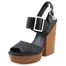 Sandali e scarpe nere Ash per il mare da donna 100% pelle