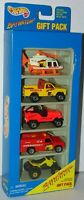 "Hot Wheels 1996 Baywatch 5 Pack w/Rescue Ranger Misprint/Error ""FISRT"" MIP"