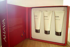 AHAVA Best Wishes Gift Box (Hand Cream,Foot Cream,Body Lotion) NEW!!!