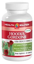 Unique Weight Loss Hoodia Gordonii Cactus 2000mg (1 Bottle)