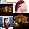 Christmas Outdoor Lighted Inflatable Santa Claus Giant Yard Party Decoration US