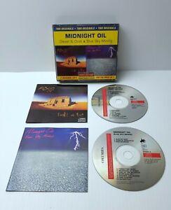 Midnight Oil - Diesel & Dust / Blue Sky Mining  (RARE 2CD Set)
