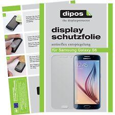 2x Samsung Galaxy S6 Protector de Pantalla protectores mate