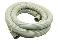 SIMPSON WASHING MACHINE DRAIN / OUTLET HOSE 22MM - 24MM W081 2M WITH ELBOW