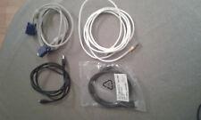 Lot 4 câbles Rj45 +  HDMI + VGA + USB pour imprimante